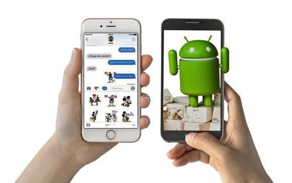 Apple y Samsung son las dos compañías con una mayor cuota de mercado en la venta de teléfonos inteligentes. FOTO: archivo