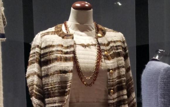Traje tweed de Chanel. Diseño de 1965.