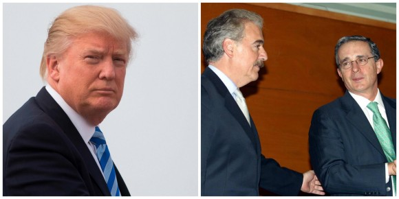 Venezuela fue tema importante en el encuentro entre Trump, Pastrana y Uribe