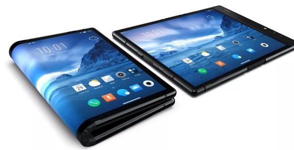 Samsung muestra el prototipo de sus nuevos móviles plegables