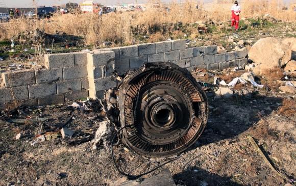 Irán asume responsabilidad del ataque al avión siniestrado