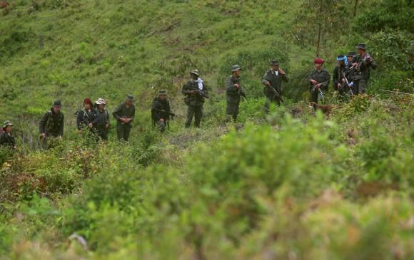 El conflicto colombiano llegó a Ecuador. FOTO: EFE