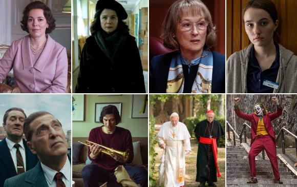 Las mejores series y películas están nominadas a los Globo de Oro, se entregarán el próximo 5 de enero. FOTOS Cortesías