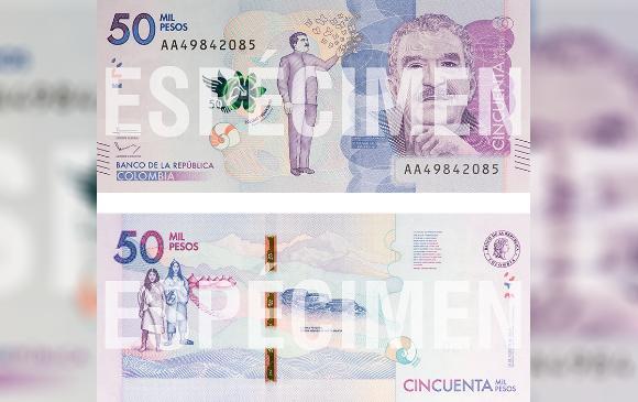 Molestia en Aracataca por lanzamiento de nuevo billete de 50 mil