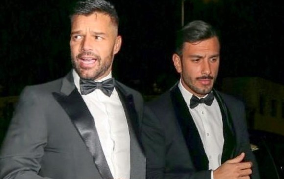 Ricky Martin y su esposo Jwan Yosef. INTAGRAM RICKY MARTIN