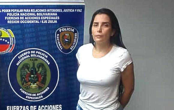 Cancillería le pide formalmente a Juan Guaidó la extradición de Aida Merlano