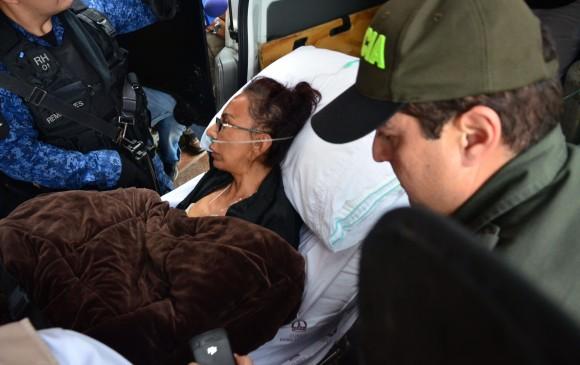 Enilce López fue llevada a su casa en Barranquilla por orden judicial