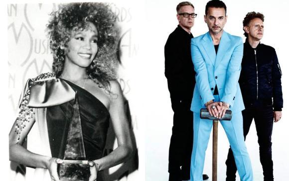 Whitney Houston, Depeche Mode y Nine Inch Nails entrarán al Salón de la Fama del rock