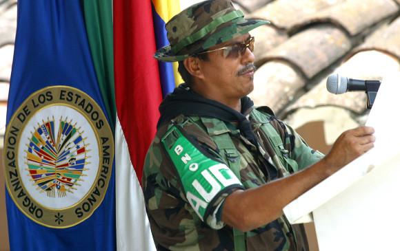 """El exparamilitar Luis Arnulfo Tuberquia, alias """"Memín"""", fue condenado por delitos cometidos cuando pertenecía a las Farc. FOTO: Archivo"""