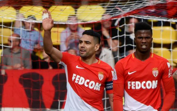 Falcao anota y asiste en triunfo de Mónaco ante Nantes