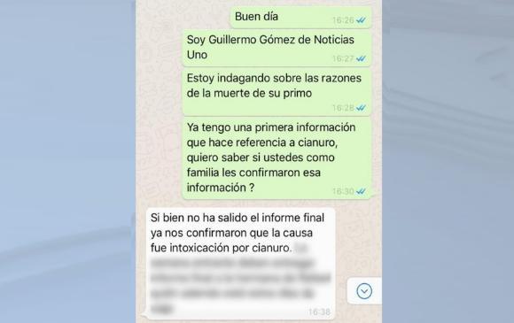 Encuentran cianuro en cuerpo de testigo del caso Odebrecht en Colombia