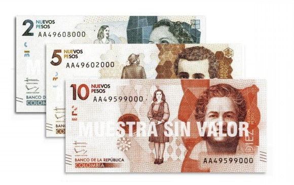 Aprueban eliminación de los tres ceros al peso colombiano, en primer debate