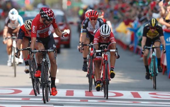 El vallecaucano Jarlinson Pantano fue segundo en la Vuelta a España