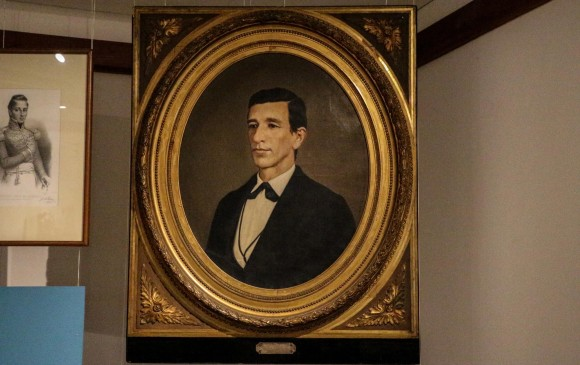 Óleo de Marceliano Vélez, de Francisco Antonio Cano. Sala semipermanente de la Colección de Historia
