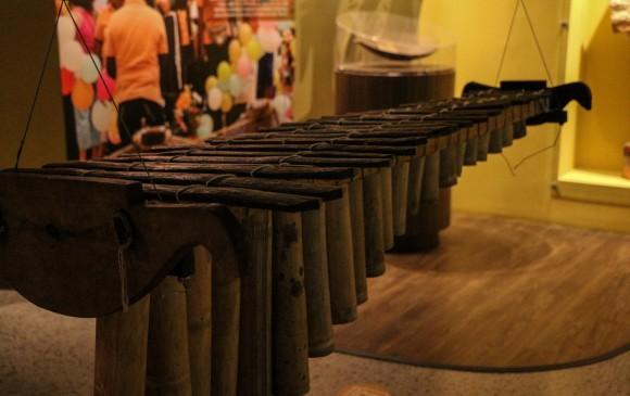 Marimba. s.f. Procedencia: Pacífico colombiano. Sala de larga duración