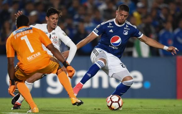 Millonarios empezó la Libertadores con empate frente a Corinthians