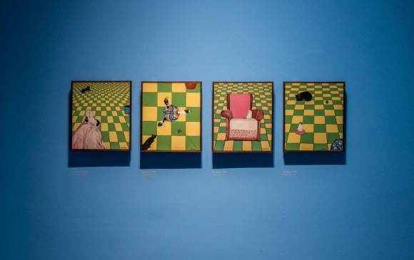 La pintura fue su principal técnica. También incursionó en la escultura, el performance y la instalación. FOTO CORTESIA MUSEO DE ANTIOQUIA