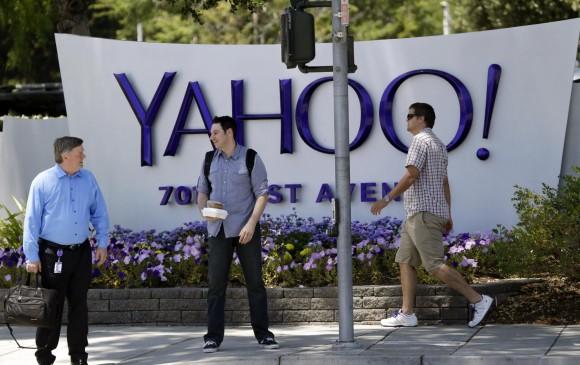 Yahoo está trabajando estrechamente con las agencias de seguridad en este tema. FOTO AP