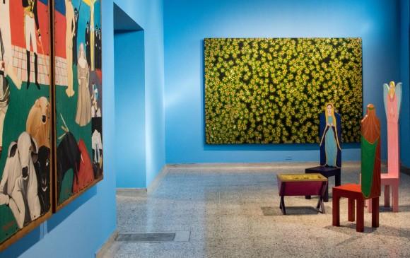 En diciembre estará abierto en el Museo de Antioquia un espacio expositivo con doce obras de Ethel. FOTO CORTESIA MUSEO DE ANTIOQUIA