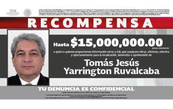 Arrestan en Italia a Tomás Yarrington