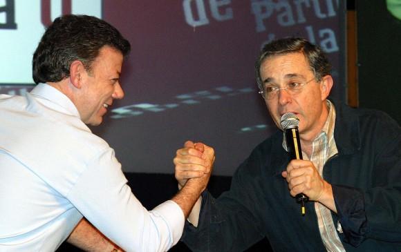 Las peleas que divorciaron a Uribe y Santos