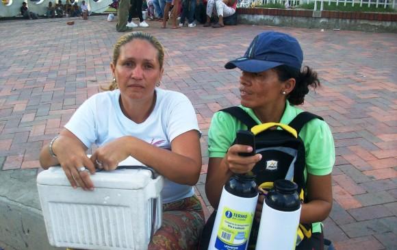 La indigencia cotidiana de miles de venezolanos en Cúcuta