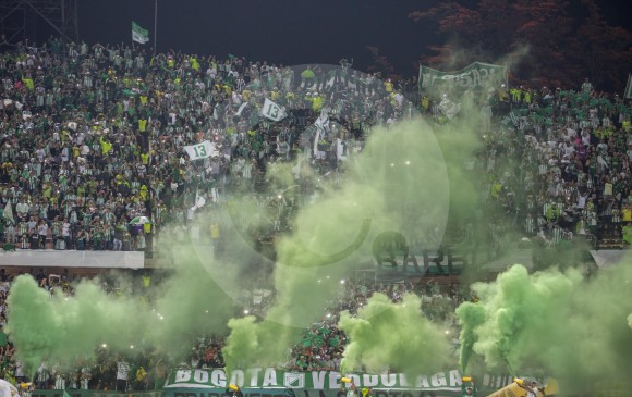 La Superliga ante Millonarios (43.217) y el clásico del domingo ante Medellín (41.746) han sido los partidos con mayor convocatoria de aficionados verdes este semestre. FOTO juan antonio sánchez