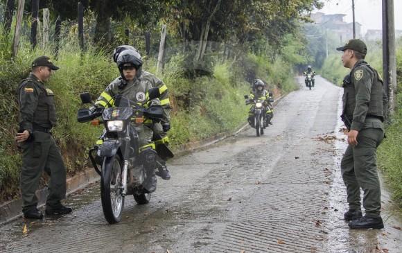 Estas patrullas militares están reforzando la vigilancia en zonas rurales de difícil acceso y comunicaciones. FOTO Róbinson Sáenz