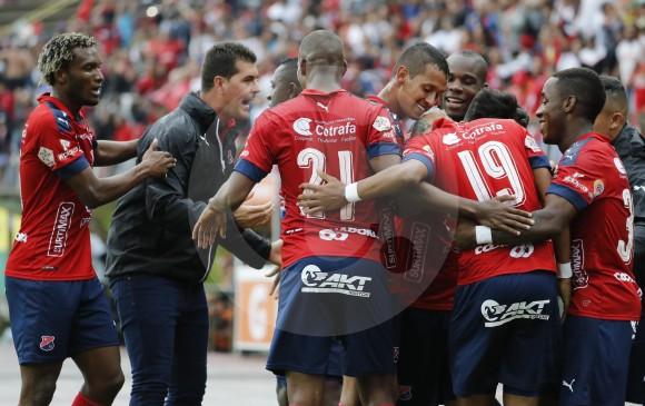 Independiente Medellín tiene 22 puntos en 13 partidos y le quedan 6 duelos para certificar su cupo. FOTO MANUEL SALDARRIAGA