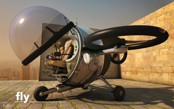 FOTO: Fly ™ Citycopter