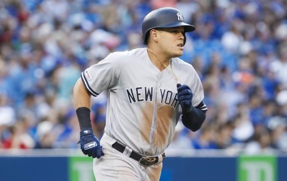 Giovanny Urshela rompe récord de cuadrangulares en la MLB