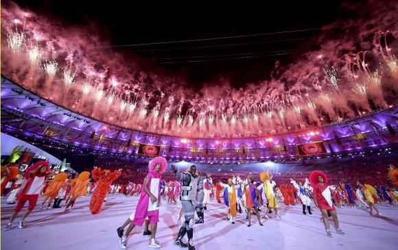 Ritmo y color en la inauguración de Juegos de Río