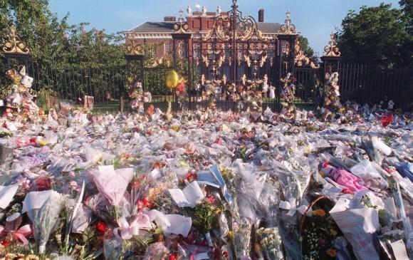 Así fue el homenaje en septiembre de 1997. FOTO AFP