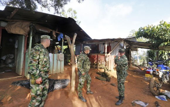 Cinco personas asesinadas — Masacre en Antioquia