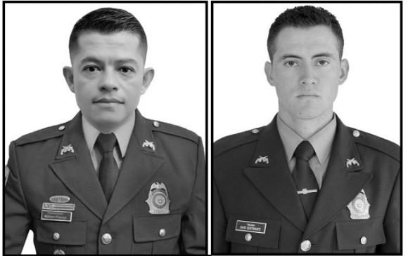 Policía rechazó muerte de dos uniformados en Córdoba
