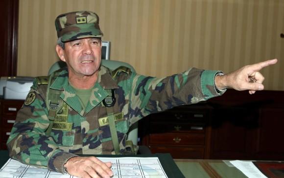 General Mario Montoya Uribe. FOTO: COLPRENSA