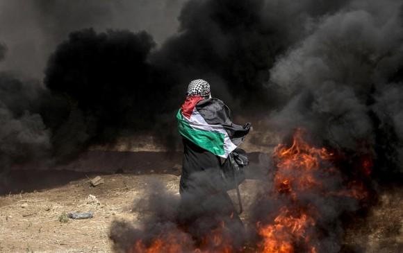 Los ataques de fuerzas israelíes se mantienen durante este martes y, según la ONU, van 112 muertos. FOTOS EFE