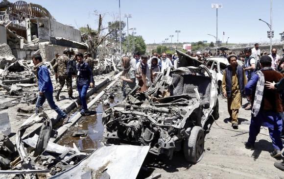 Nuevo ataque suicida en Afganistán deja al menos 30 muertos