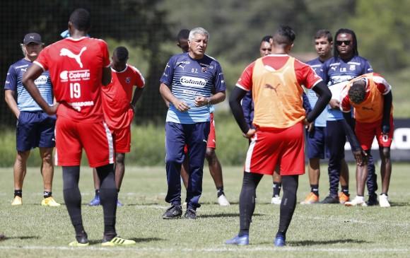 Octavio Zambrano se mantuvo como técnico del Independiente Medellín tras  ser subcampeón de la Liga Águila a6630833456cd