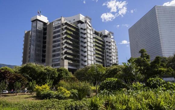 Edifcio de Empresas Públicas de Medellín. FOTO ARCHIVO
