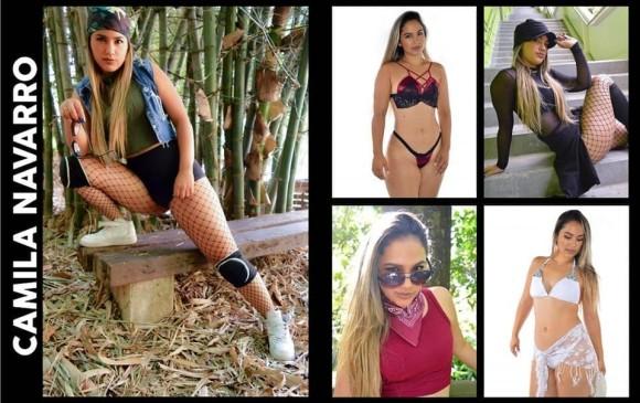 Camila Navarro es modelo y bailarina y también estará en la pasarela. FOTO CORTESÍA