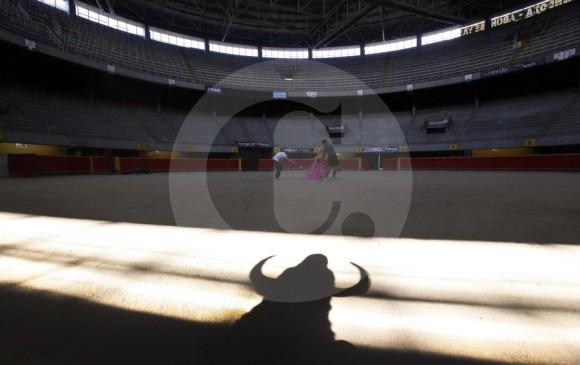 Imagen archivo de anteriores ediciones de la feria taurina en Medellín. FOTO MANUEL SALDARRIAGA