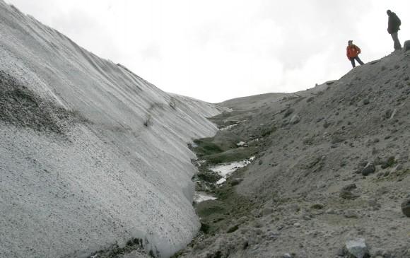 Área glaciar colombiana ha disminuido considerablemente en los últimos años: Ideam