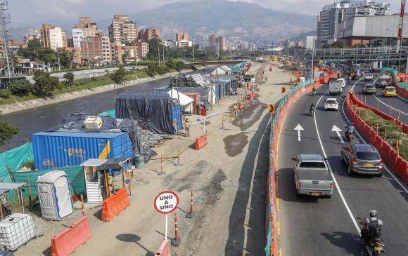 Los trabajos en la avenida Regional hacen parte de la segunda etapa del proyecto Parques del Río.