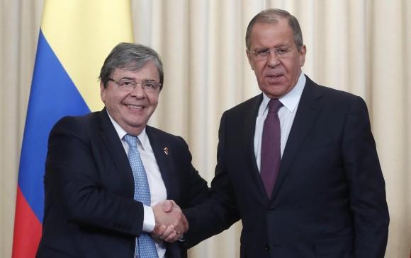 Colombia no comprará armas rusas: aclaró el canciller Carlos Holmes Trujillo
