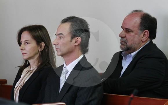 María Cecilia Posada, Pablo Villegas Mesa y Jorge Aristizábal, culpables por el caso del edificio Space. FOTO ROBINSON SÁENZ