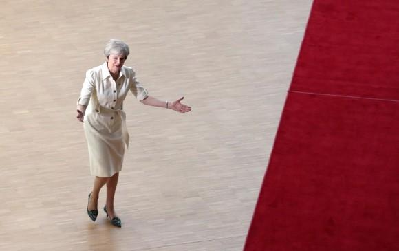 Protestas en Londres contra el recién elegido primer ministro británico