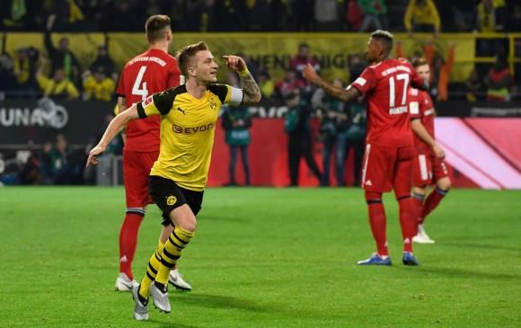 Bayern (sin James) perdió el clásico contra el Dortmund da0e1882e997d