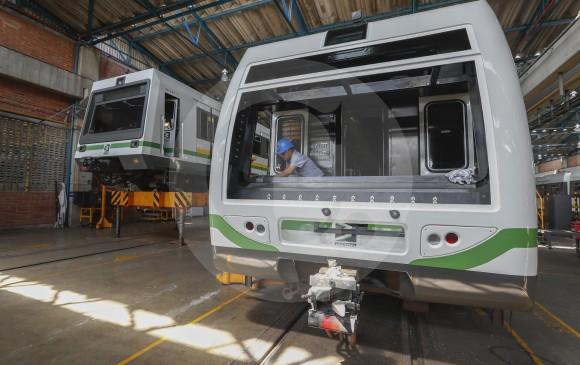 El proceso alargará la vida útil de los trenes de primera generación. FOTO: MANUEL SALDARRIAGA