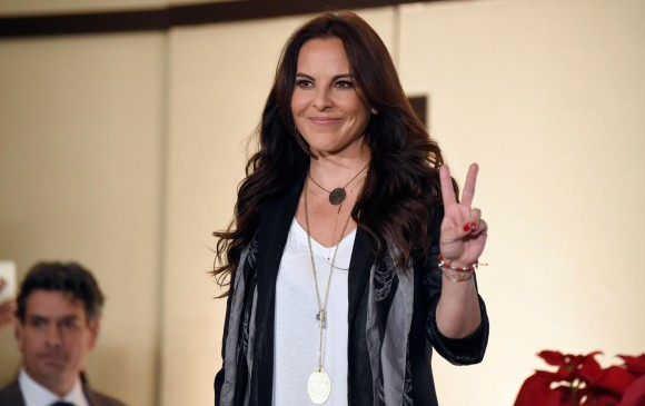 Kate del Castillo demandó al estado mexicano. FOTO AFP